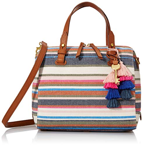 Fossil Satchel, Multi Stripe