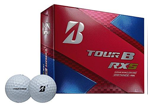 Bridgestone Golf Tour B RXS Golf Balls, White (One Dozen) - 760778083109