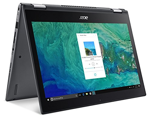 Acer Spin 3 SP314-51-59NM, 14' Full HD IPS Touch, 8th Gen Intel Core i5-8250U, Alexa Built-in, 8GB DDR4, 256GB SSD, Steel Gray