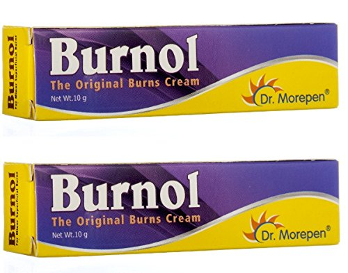 First Aid Antiseptic Cream Burnol - Burns Cuts Bruises Wounds 10gm (Pack of 2) - Pamherbals