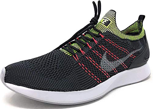 Nike Air Zoom Mariah Flyknit Racer Men's Running Sneaker (10, Black/Wolf Grey-Anthracite)