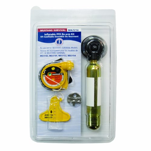 Mustang Survival Corp Re-Arm Kit (Auto with HIT) for MD3183, MD3184, MD3188