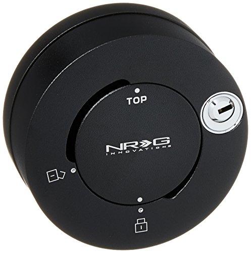 NRG Innovations SRK-101MB Matte Black Quick Lock
