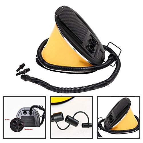 BXzhiri Air Pump for inflatables Foot Pump, 3L Soft Foot Air Pump Deflator for Swimming Floating Accessory air Mattress Pump Airheads Exercise Ball Pump