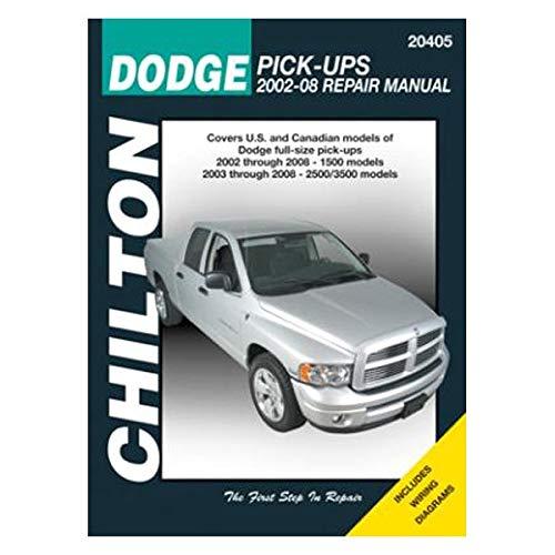 Chilton Repair Manual for Dodge Pick-ups, 2002-08