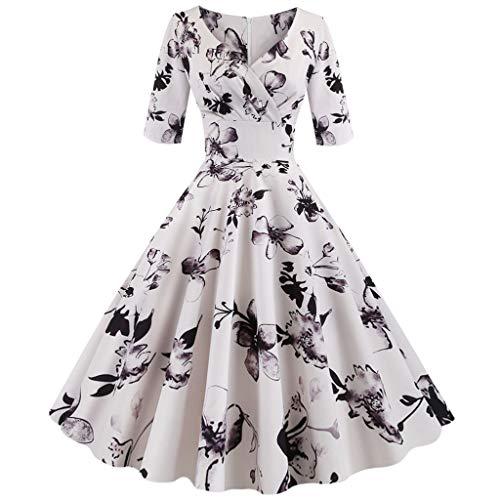 Eaktool Plus Size Dresses Long Sleeve Dresses for Women Formal Dresses for Women Casual Dresses for Women Party White