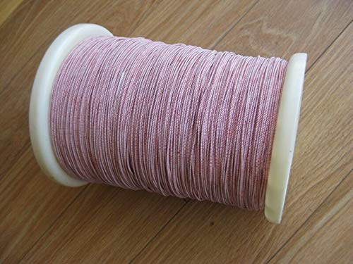 Litz wire 255/44 Single layer insulation, 100', Compatible with Amateur & Crystal Radio coil,