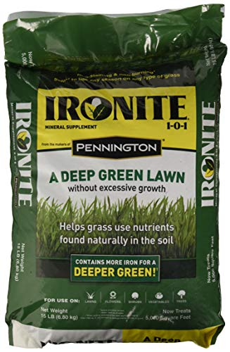 Ironite 100519460 1-0-1 Mineral Supplement/Fertilizer, 15 lb