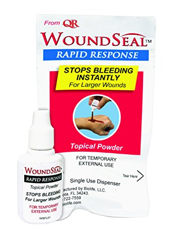 WoundSeal Powder For Larger Wounds Single use dispenser bottle