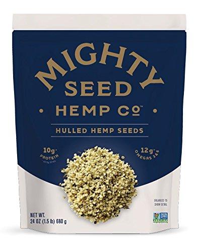 Mighty Seed Hemp Hulled Seeds, 24 Ounce