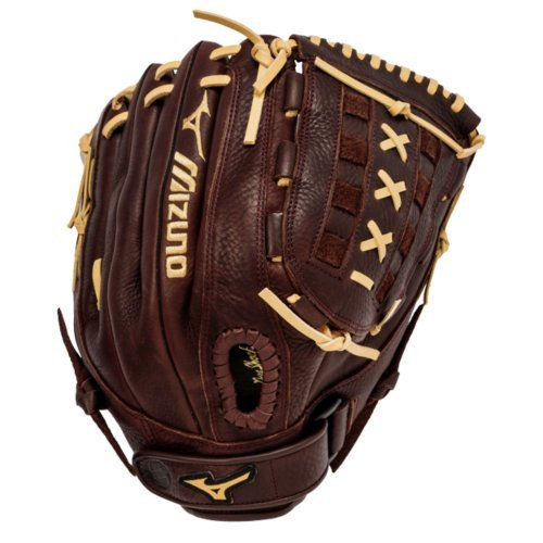 Mizuno GFN1250S1 Franchise Slowpitch Glove, 12.5-Inch, Right Hand Throw