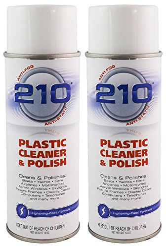 Sumner Laboratories 23304C-2PK 210 Plastic Cleaner/Polish Aerosol - 28 fl. oz., 2 Pack