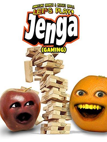 Clip: Annoying Orange & Midget Apple Let's Play - Jenga (Gaming)