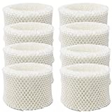 HIFROM Replace Humidifier Wicking Filters HC-888 HC-888N,Filter C,Replacement for Honeywell DH-890C DCM-891B HCM-890 HCM-890B HCM-890C DCM-200 HEV-320B HEV-320W (8pcs)