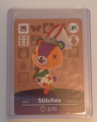 Nintendo Animal Crossing amiibo Festival Card Stitches