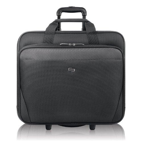 Solo New York Empire Rolling Laptop Bag, Black