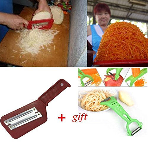 Cabbage Slicer Chopper Shredder Sauerkraut Cutter Slaw Cutter grater+gift Peeler