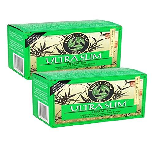 Triple Leaf Tea Ultra Slim 20 Tea Bags