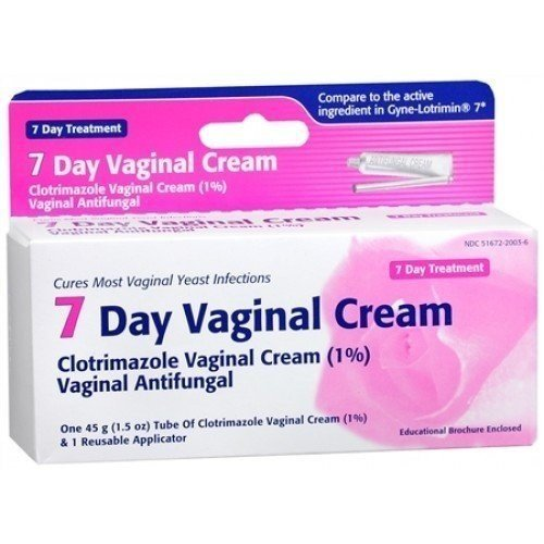 Taro Clotrimazole 7 Vaginal Cream 45 g ( Pack of 3)