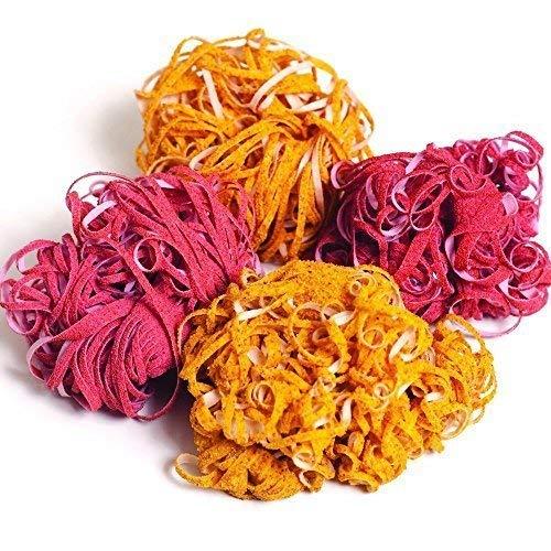 Goodbye Detergent Original Spaghetti Scrubs: 1 Box Corn Heavy Duty + 1 Box Peach All Purpose (2 Scrubs to a Box)