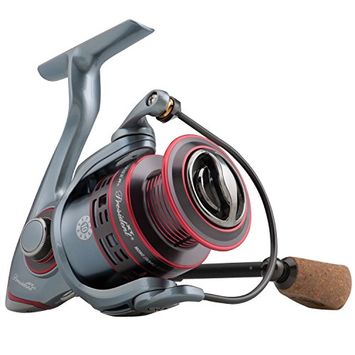 Pflueger 5.2:1 Gear Ratio 22.40' Retrieve Rate President XT Spinning 25 Reel, Left Hand
