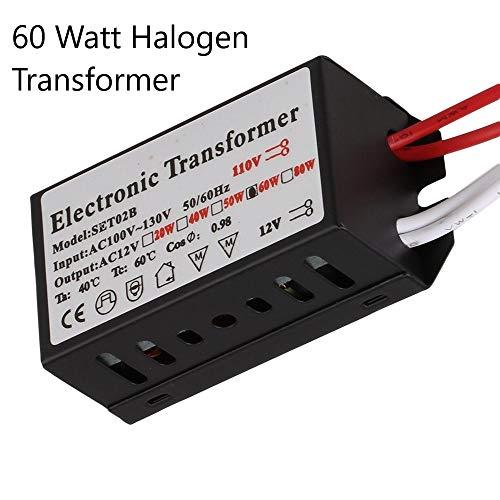 Halogen/Xenon Electronic Transformer 60 Watt Max output 120 Volt Input / 12 Volt OutPut Transformer