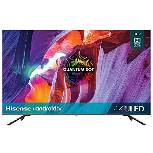 Hisense 50-Inch Class H8 Quantum Series Android 4K ULED Smart TV with Voice Remote (50H8G, 2020 Model)