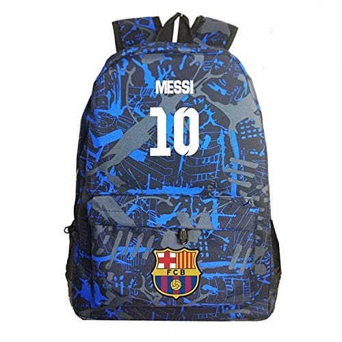 Ku-lee Football Stars Backpack-Luminous Barcelona Backpack Daypack-Backpack for School,Travel