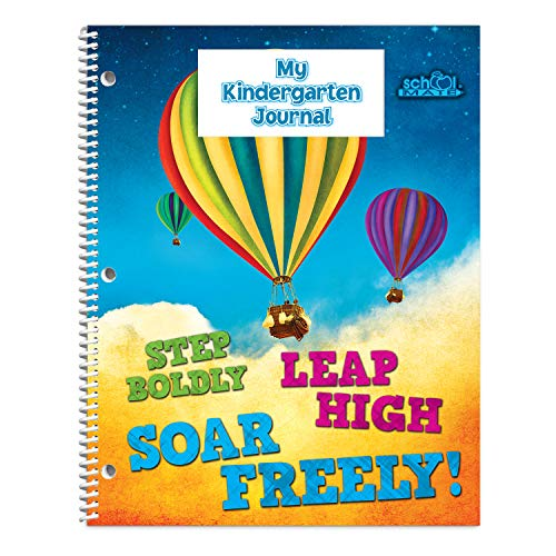 Undated Kindergarten Journal, School Mate Brand, 8.5'x11', Daily Letter & Number Practice & Recognition