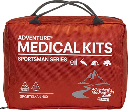 Adventure Medical Kits Sportsman Series 400 Outdoor First Aid Kit - 180 Pieces