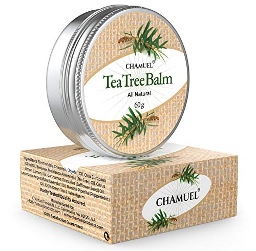 TEA TREE OIL BALM -100% All Natural   Great Cream for Soothing Skin Irritations like Eczema, Psoriasis, Rashes, Jock Itch, Folliculitis, Angular Cheilitis, Itches, Dry Chapped Skin, Heels, Cuticles, Hemorrhoids, Saddle Sores and more!