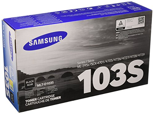 Samsung MLT-D103S Toner Cartridge Black for ML-2955ND, ML-2955DW, SCX-4729FD/SCX-4729FW