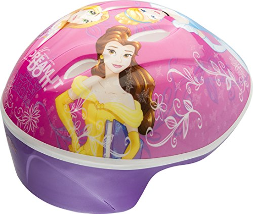 Bell Princess PRINCESSES RULE Toddler Helmet , Princesses Rule Purple , Toddler (3-5 yrs.)