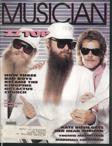 MUSICIAN #87 ZZ Top Kate Bush Yngwie Malmsteen Marshall Crenshaw 1 1986
