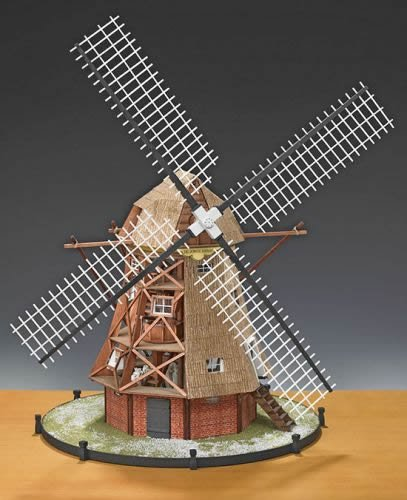 Amati Dutch Windmill - Wooden Model Kit