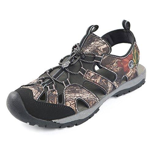 Northside Mens Burke II Sport Athletic Sandal, Brown Camo, 10 M US