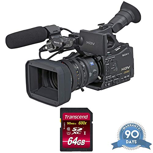 Sony HVR-Z7U HDV Camcorder with Memory Card - (Renewed)