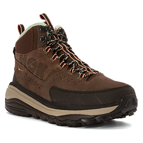 HOKA ONE ONE 1008983-BPNG Women's Tor Summit Mid WP Hiking Shoes - Brown - 11.0\M