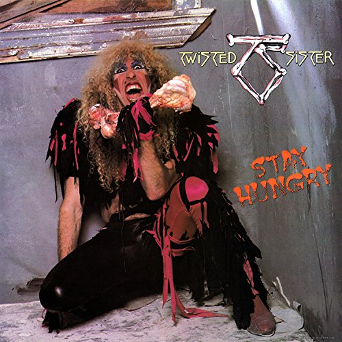 Da Bang Twisted Sister - Stay Hungry Album Cover Art Print Poster 12 x 12