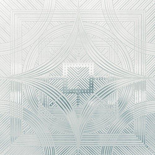 Artscape Etched Bird's Eye View Clear Window Deflector 6' X 6', 6 In. X 6
