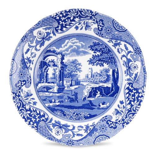 Spode Blue Italian 8' Salad Plates - Set of 4