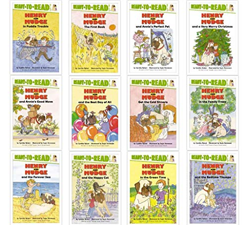 Henry and Mudge Box Set of 12: The First Book; in Puddle Trouble; the Green Time; Forever Sea; Get the Cold Shivers; Happy Cat; Bedtime Thumps; Best Day of All; Family Trees; Annie's Good Move; Annie's Perfect Pet; Very Merry Christmas (Ready-to-Read)