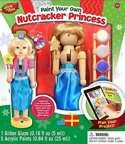 MasterPieces Works of Ahhh Nutcracker Princess Large Wood Paint Kit