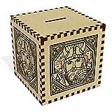 Azeeda Large 'Square Viking Motif' Money Box / Piggy Bank (MB00022682)