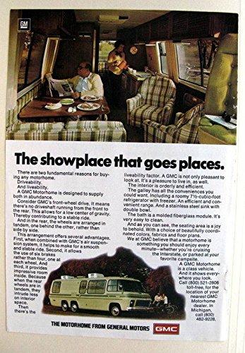 1976 GMC Transmode Motorhome Repair Shop Manual Original Supplement