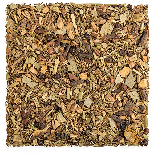 Tealyra - Deep Breath - Eucalyptus - Ginger - Tulsi - Fennel - Wellness Herbal Loose Leaf Tea - Calming and Relaxing - Caffeine Free - 224g (8-ounce)