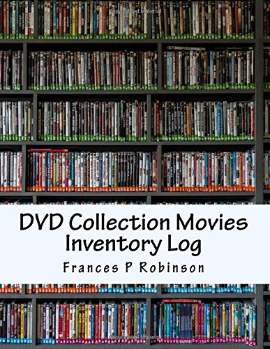 DVD Collection Movies Inventory Log: Keep track of your collectible DVD Movies in the DVD Collection Movies Inventory Log. Save up to 1000 items in one convenient book.