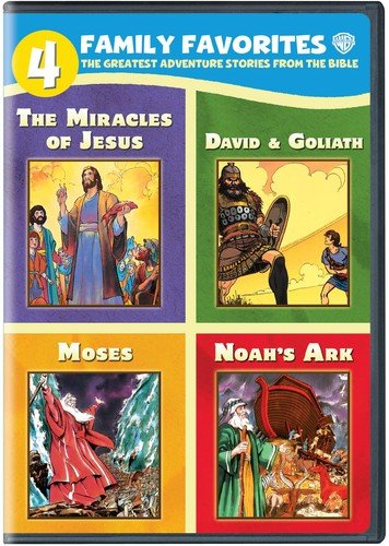 4 Family Favorites: Greatest Adventures of the Bible (DVD)
