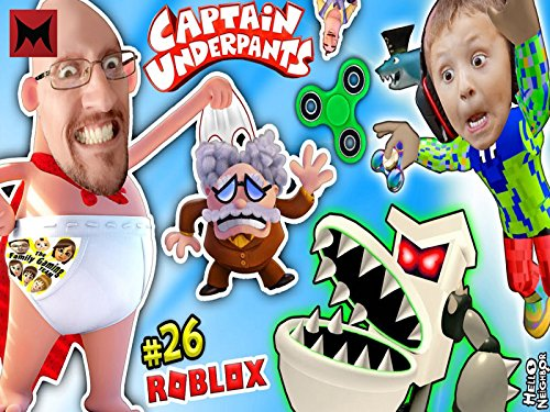 Captain Underpants, Useless Fidget Spinner and Roblox Movie Adventure Obby vs Toilets