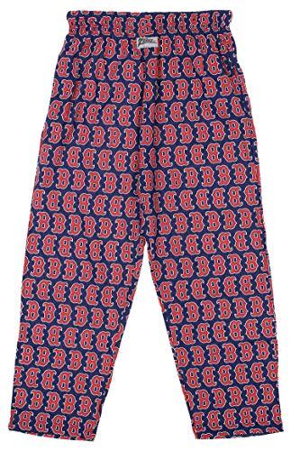 Zubaz MLB Mens Boston Red Sox Big Logo Print Lounge Pants, X-Large